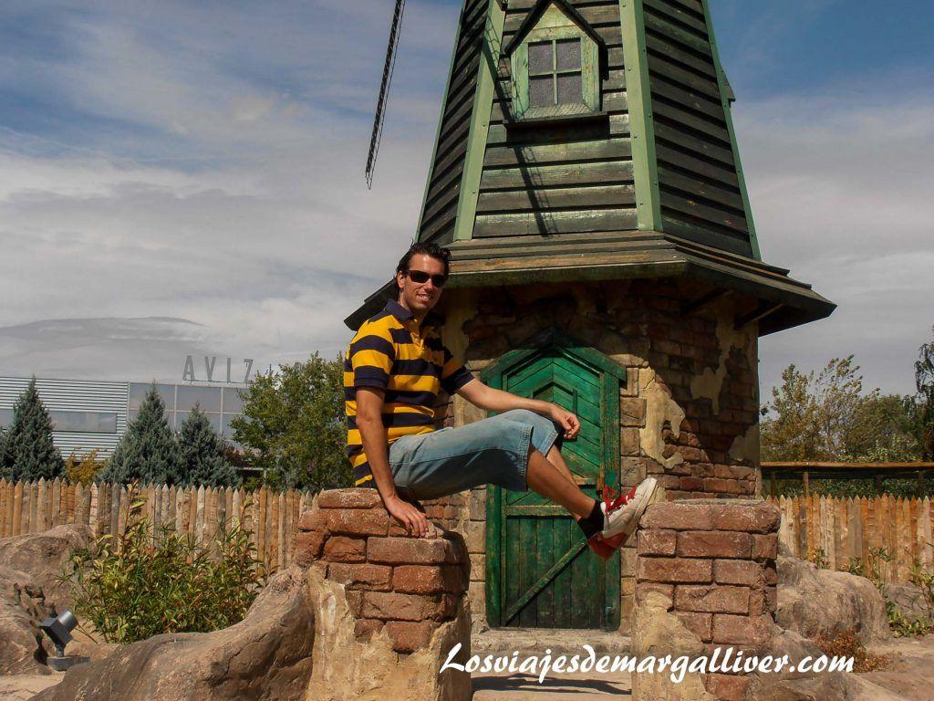 molino de Holanda en el Parque Europa de Madrid - Los viajes de Margalliver
